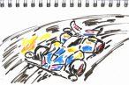 TOYz BAR◆ミニ四駆は重心を下げるといいことがあるのかな?…を考察的妄想をしてみた。