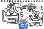 TOYz BAR◆材料費216円+α、製作時間5分。ミニ四駆ベアリング慣らし機(ブレークイン)を100均グッズで開発してみるの巻。