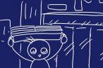 ベッド下収納ケースとしては最大級かな?ニトリ〔幅80.3×奥行58×高さ16.2cm〕ベッド下収納 キャスター付き(キャスターツキ L)。