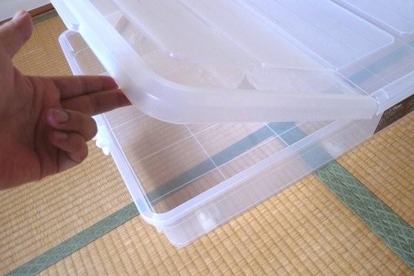 SiSO-LAB☆ニトリ・ベッド下収納ケース キャスター付き