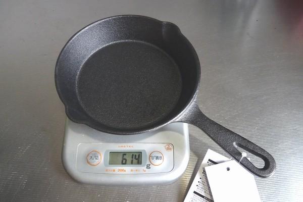 SiSO-LAB☆ニトスキ!ニトリのスキレット15cm、19cmを購入。重さを測ってみたり。