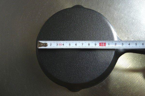 SiSO-LAB☆ニトスキ!ニトリのスキレット15cm、19cmを購入。サイズを測ってみたり。