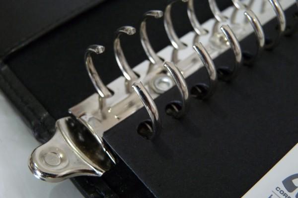 コレクトB5-L判26穴本革調リングバインダー F-700X