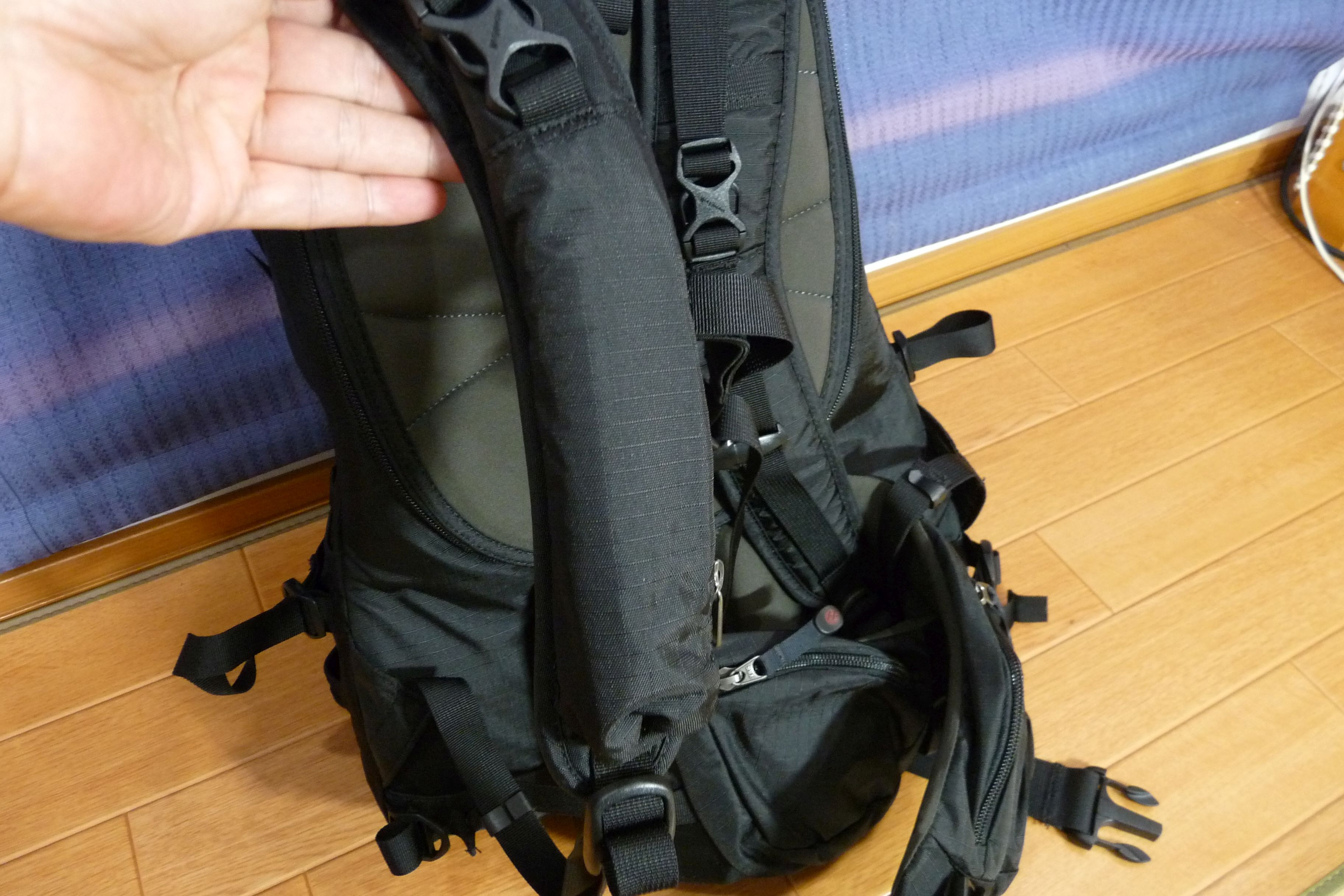 SiSO-LAB☆モンベル・ランドナーパック33・荷物の多いファミリーハイキング向け?
