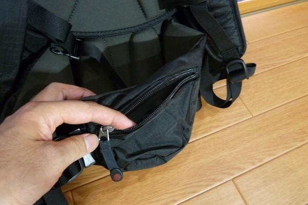 SiSO-LAB☆モンベル・ランドナーパック33・ウエストベルトポケット