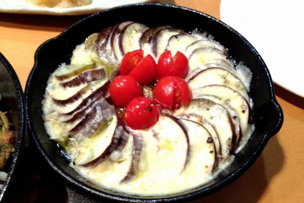 SiSO-LAB☆ニトスキ!ナスのチーズ蒸し焼き
