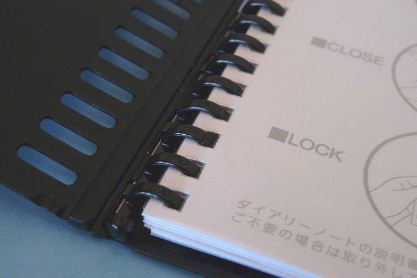 SiSO-LAB☆超薄いバインダータイプ。リヒトラブ・ダイアリーD7271