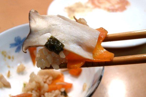 SiSO-LAB☆ニトスキ!19cm、永谷園松茸の味お吸いもの素とエリンギで炊き込みご飯