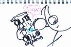 TOYz BAR◆軽量センターシャーシ(MS)の違い、さらに発見。電池金具の固定がちょっと進化しているのね。