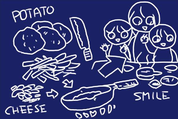 SiSO-LAB☆ニトスキ!19cmなら中4個かな。ジャガイモのガレット。