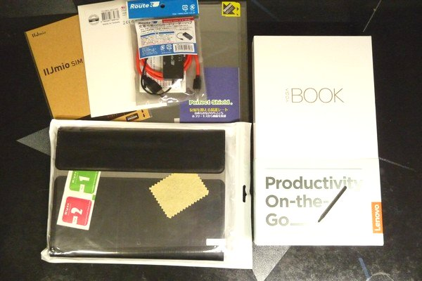 SiSO-LAB☆Lenovo YOGA BOOK購入。