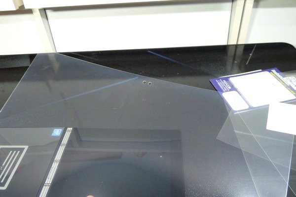 SiSO-LAB☆Lenovo YOGA BOOK・液晶保護フィルムを貼る方法