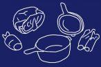 ワイルドにキャベツ鍋。ザクザクっと切ってコンボクッカー(ダッチオーブン)にポン!あとはグツグツ煮るだけ。