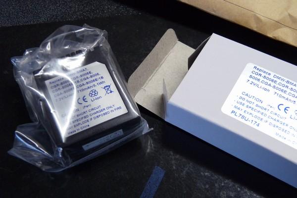 SiSO-LAB☆PANASONIC DMC-FZ28用互換バッテリー(ロワ・ジャパン)