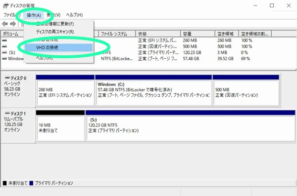 SiSO-LAB☆YOGA BOOK WindowsでSDメモリカードを仮想ディスク自動アタッチ(マウント)