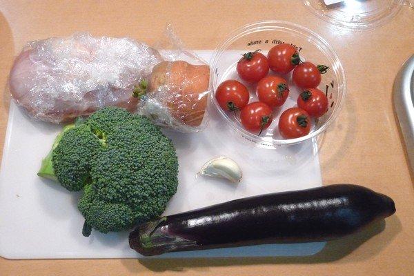 SiSO-LAB☆ニトスキ!オーブン使わずにギュウギュウ焼き。鶏肉と野菜たっぷり。材料。