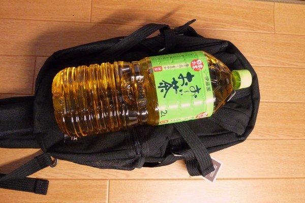 SiSO-LAB☆AVIREX イーグル ボディバッグAVX305・2Lのペットボトル