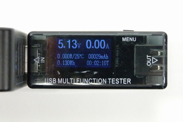 SiSO-LAB☆RouteR RT-USBVAX・電圧・電流測定表示。
