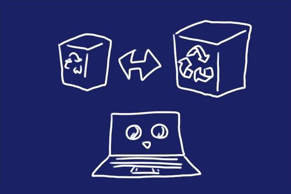 SiSO-LAB☆YOGA BOOK with Windows、ごみ箱の容量を設定