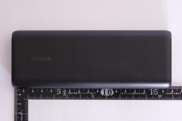 SiSO-LAB☆Anker PowerCube 20100。サイズ。