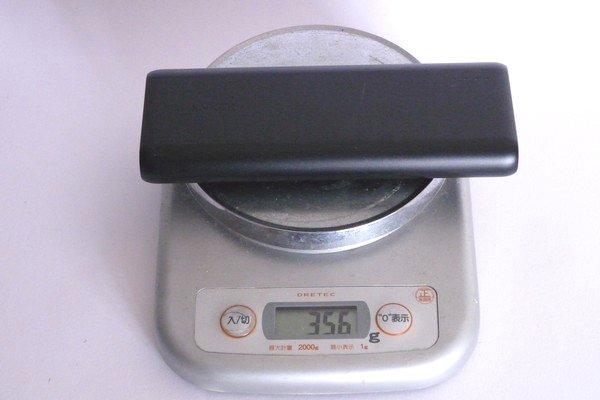 SiSO-LAB☆Anker PowerCube 20100。重さ。