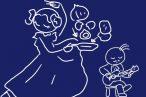 ニトスキ!簡単、のんびりふっくらスパニッシュオムレツの作り方。