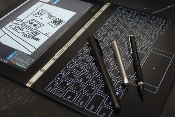 SiSO-LAB☆YOGA BOOKとリアルペン、タッチペン。