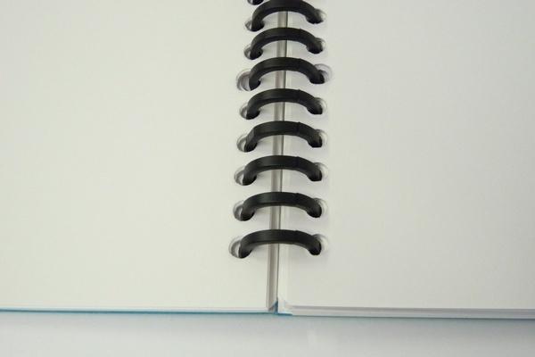SiSO-LAB☆カール ルーズリング。14mm。自分ようにカスタマイズしたリングノートを作れるよ。