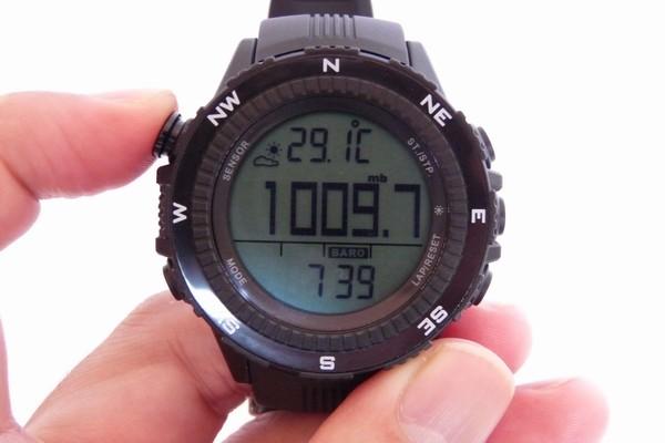 SiSO-LAB☆ラドウェザーLAD004 NKNO。気圧計表示。