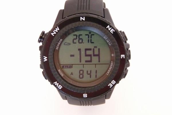 SiSO-LAB☆ラドウェザーLAD004 NKNO。購入時の高度計表示。