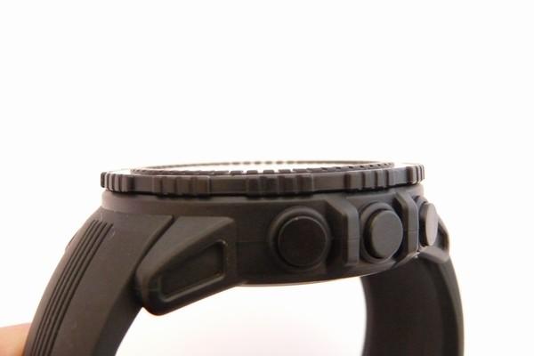 SiSO-LAB☆デジタルコンパス、高度計付き腕時計、ラドウェザーLAD004 NKNO。超フラットなガラス。