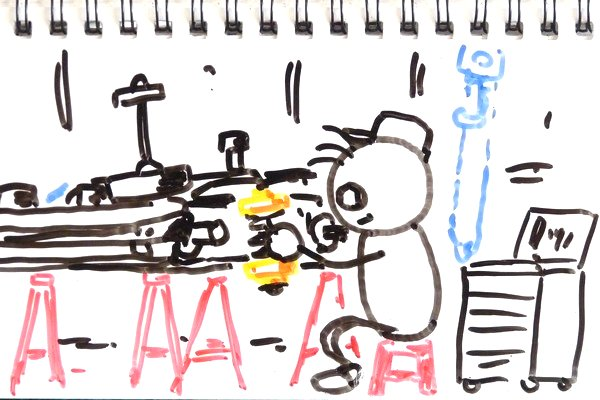 TOYz BAR◆ミニ四駆のメタル軸受けにスライドダンパー用スプリングを差し込む方法。ちょっとしたコツがある模様。