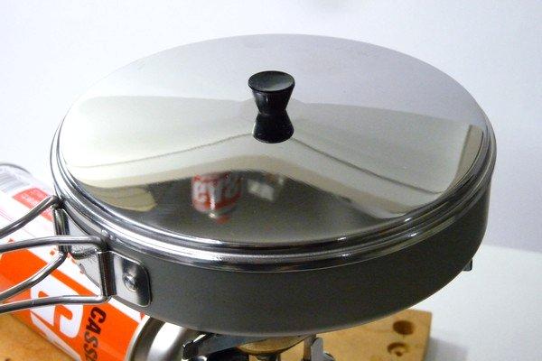 SiSO-LAB☆ユニフレーム 山フライパン17cmで日清焼そば調理。