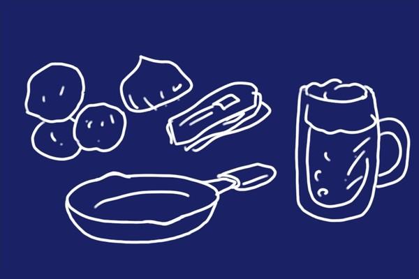 SiSO-LAB☆ニトスキ!ジャーマンポテトの作り方。