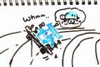 TOYz BAR◆ミニ四駆(MSシャーシ)のリヤ用アンダーガードを考えてみる。パーフェクト感はなかなか難しいなぁ。