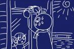 SiSO-LAB☆日よけ対策。100均グッズ追加工作でスダレハンガーをサッシにしっかり固定。