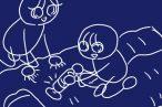 タタキでゴミを浮き上がらせる!アイリスオーヤマ  超吸引 布団クリーナーIC-FAC2 。使い勝手、吸引力、求心力(子ども)も良好。