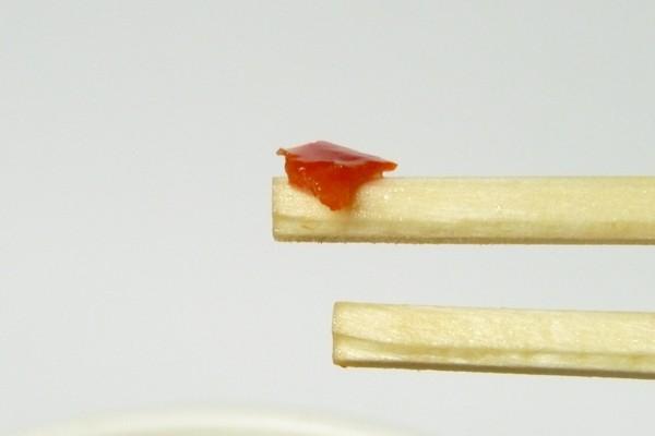 SiSO-LAB☆チキンラーメンビッグカップ から揚げレモン&ペッパー。レッドベルペパー拡大写真。