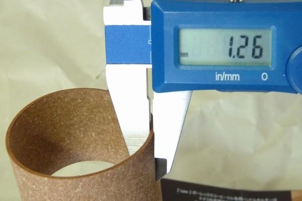 SiSO-LAB☆藤井商店 ポーレックス セラミックミル専用ハンドルカバー。厚さ測定。