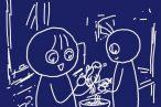 100均つま切り専用ピーラーで大根の甘酢サラダ。子ども達もしっかり食べてくれました。