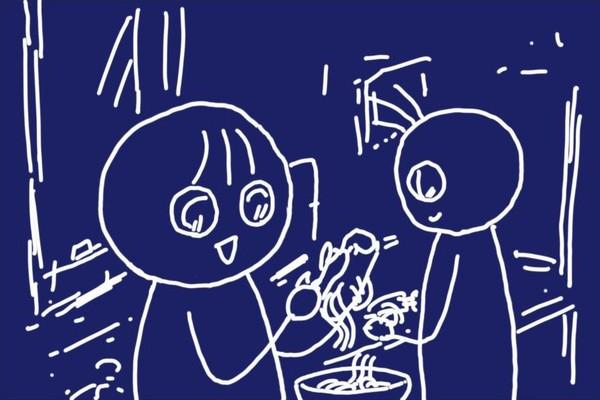 SiSO-LAB☆100均つま切り専用ピーラーで大根の甘酢サラダ。