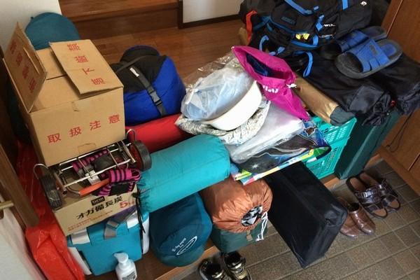 SiSO-LAB☆コンパクトカーでキャンプ。荷物の積み方。