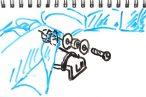 TOYz BAR◆バックブレーダー(ポリカボディ)をボディキャッチ無しでMSシャーシに取り付ける方法を考えてみる。