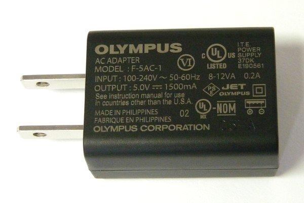 SiSO-LAB☆OLYMPUS TG-5。AC-USB充電アダプタ。