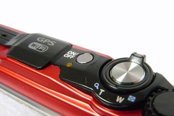 SiSO-LAB☆OLYMPUS TG-5。各部詳細写真。電源ボタン。