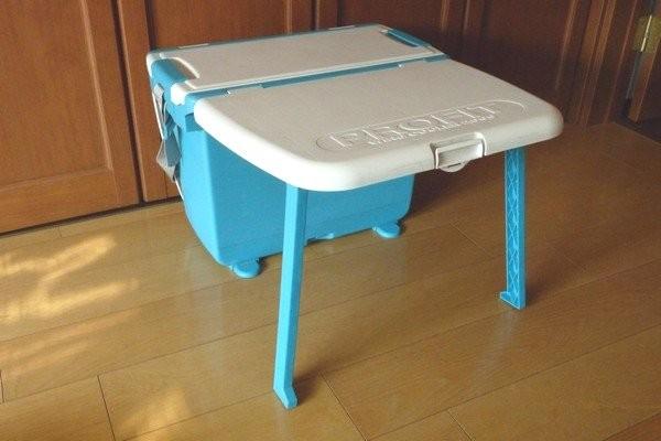 SiSO-LAB☆時々便利だけど容量の少ないテーブル付きクーラーボックス。