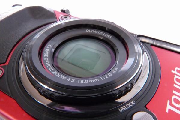 SiSO-LAB☆OLYMPUS TG-5。標準レンズリングにはレンズキャップ取り付け不可。
