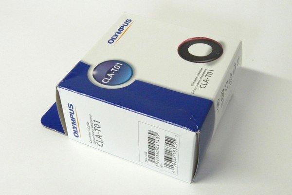 SiSO-LAB☆OLYMPUS TG-5。コンバーターアダプター CLA-T01、パッケージ写真。