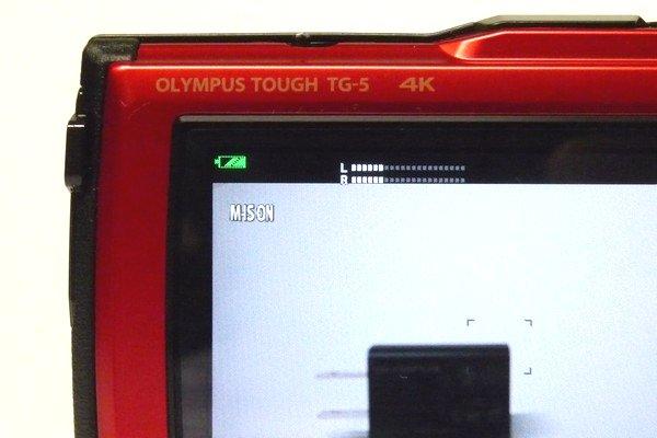 SiSO-LAB☆OLYMPUS TG-5。SDメモリカード相性。4K動画撮影、バッテリ残量が少ないとできない模様。