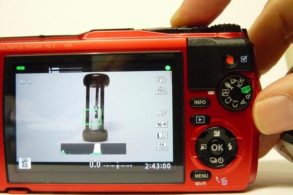SiSO-LAB☆OLYMPUS TG-5。動画撮影中の静止画撮影はできないみたい。